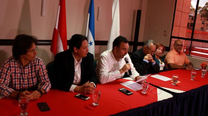 Partidos opositores anuncian alianza