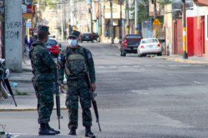 estado de excepción en Honduras