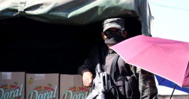 Habitantes de Comayagüela realizan protesta por falta de alimentos
