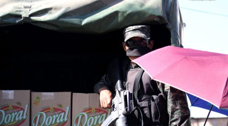 Habitantes de Comayagüela realizan protesta