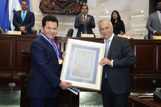 el poder en Honduras
