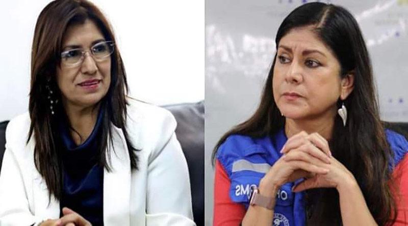 Ministra de salud de Honduras y representante de OPS