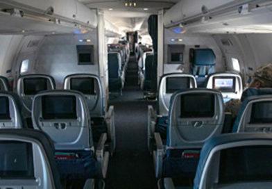Viajes aéreos caen en 96%