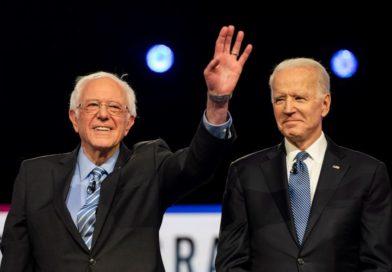 """Bernie Sanders se une a Joe Biden «para vencer al presidente más peligroso"""""""