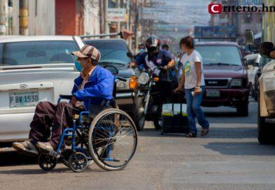 Personas con discapacidad se declaran en calamidad doméstica