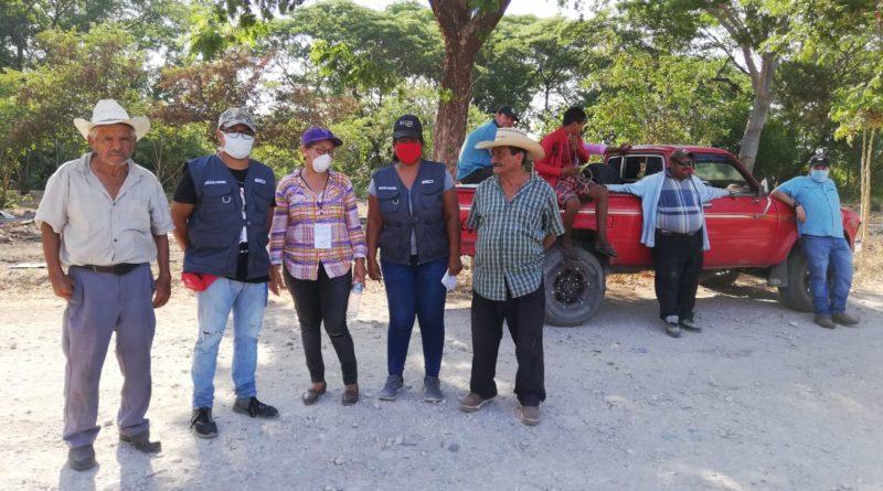 campesinos cooperativistas de Marcovia, Choluteca