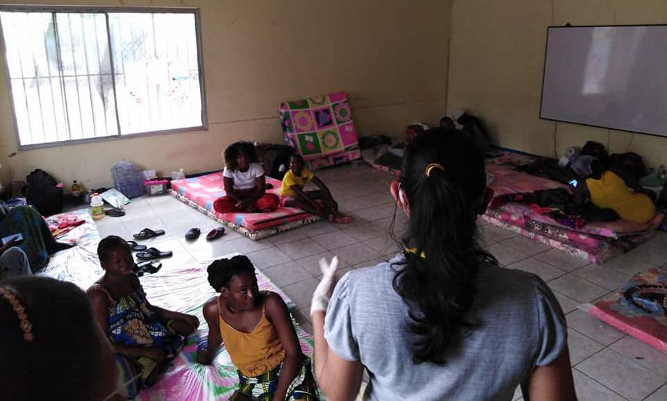 La impaciente espera de los migrantes en Choluteca, Honduras
