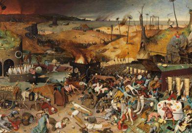 Moralejas ilustradas de la historia total de las pandemias, y la incógnita