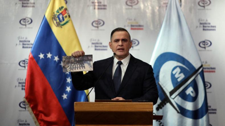 Fiscalía de Venezuela ordena detención de 22 personas