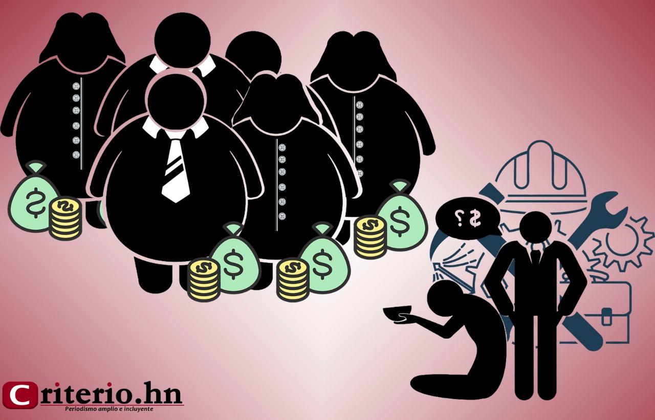 Opulencia de los diputados versus miseria de los obreros
