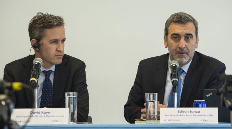 Expertos de la ONU y la OEA condenan