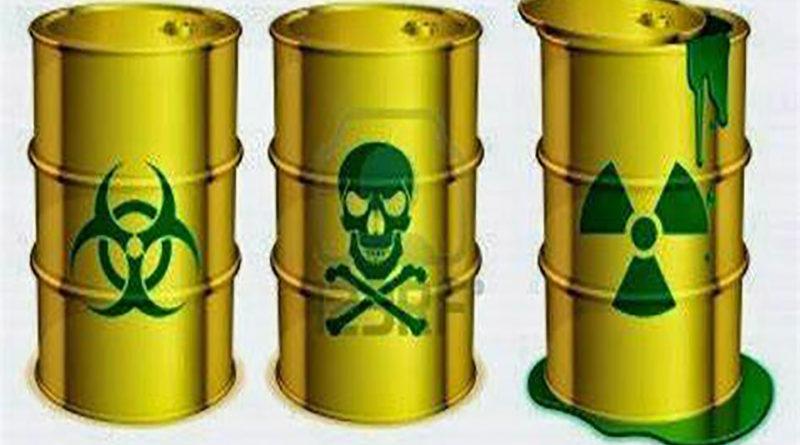 es prohibido introducir desechos tóxicos a Honduras