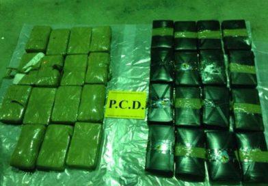 Capturan en Costa Rica a 5 narcotraficantes entre ellos un hondureño empleado de la ENP