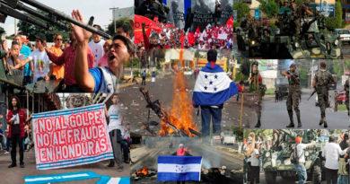 Once años de retrocesos democráticos ha vivido Honduras tras el golpe de Estado de 2009