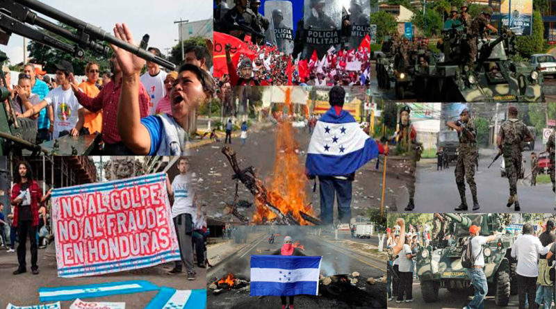 CIDH golpe de Estado en Honduras