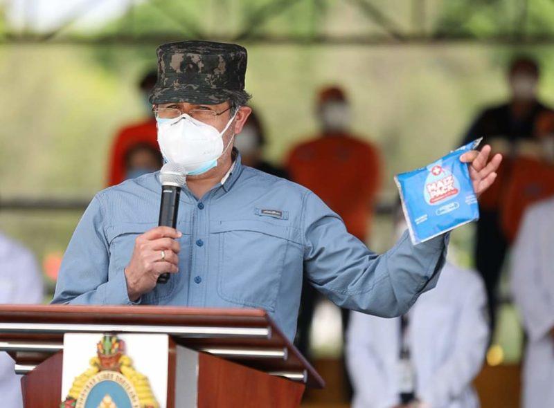 Honduras: Ponen en duda que Hernández esté contagiado con Covid-19