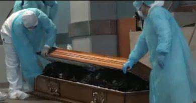 Empleados de la morgue contagiados de Covid-19 por falta de equipo