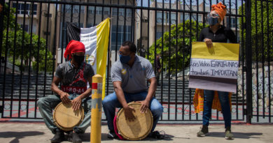 Partido Liberal se suma a las exigencias por la aparición de los cuatro garífunas secuestrados