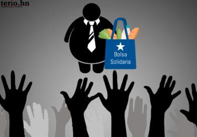 Más de un millón de hondureños sin recibir la «bolsa solidaria», según datos del mismo gobierno
