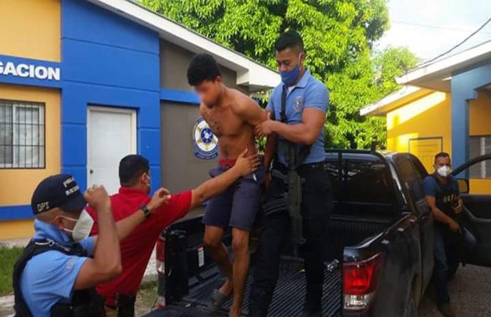 Policía captura a sospechosos