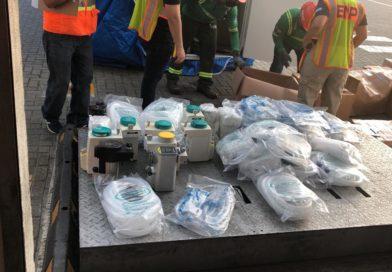 Concluye inspección a contenedores de hospitales móviles, MP anuncia que continuará investigando