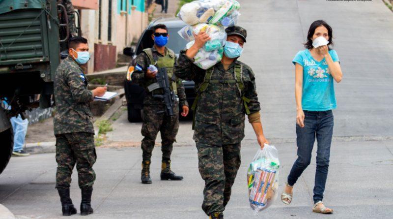 Honduras una sociedad militarizada