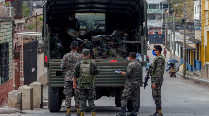 hospitales móviles estará en manos de militares