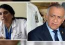 Cruce de tuits entre Mauricio Oliva y Suyapa Figueroa por contratación de médicos