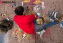 Paseo Liquidámbar: el suelo de color de Nelson Salgado