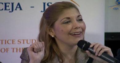 Consejera del CNE Ana Hall envía proyecto de reforma constitucional sobre segunda vuelta