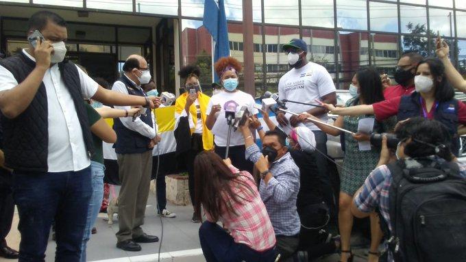 garifunas desaparecidos Honduras