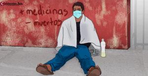 Hospitales de Honduras colapsados