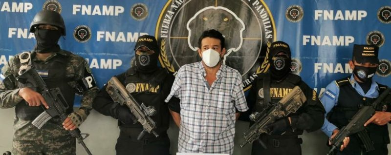 A petición de EE. UU. detienen a extraditable hondureño vinculado a tráfico transnacional de drogas