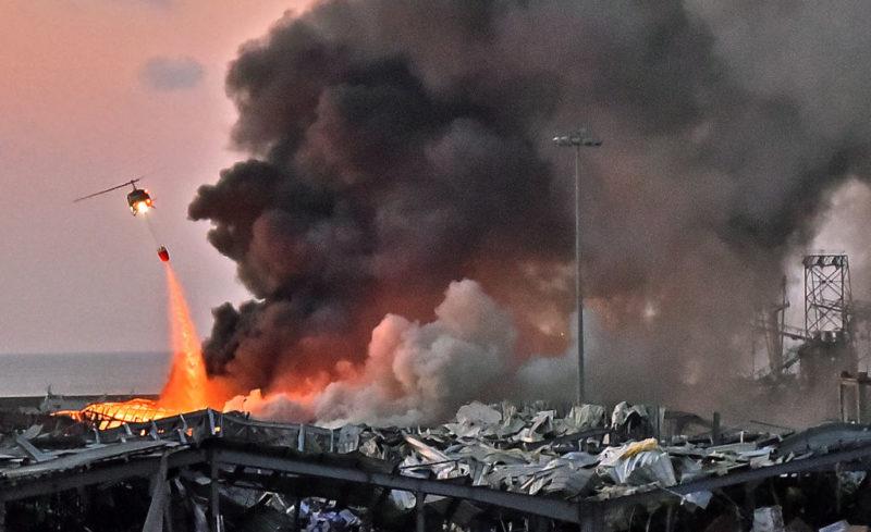 El Líbano: Explosión en puerto de Beirut deja al menos 50 muertos y 2.750 heridos
