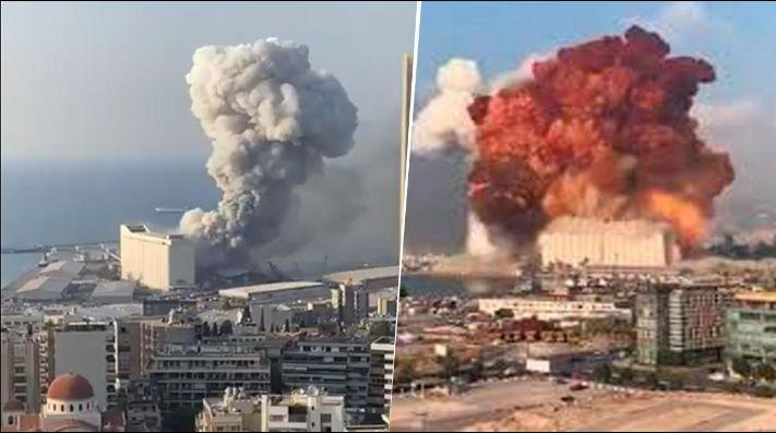Explosión el Líbano