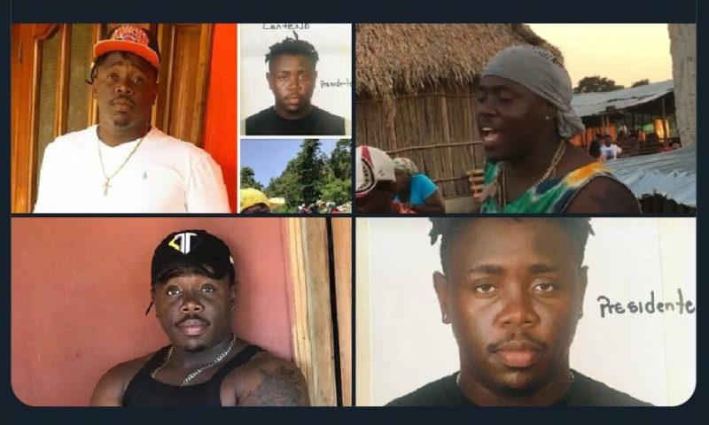Desaparición forzada de cinco jóvenes garífunas