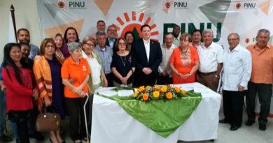 PINU reclama participación en discusión de nueva ley electoral