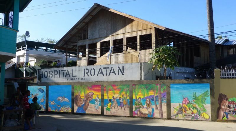 pacientes Covid-19 en Roatán