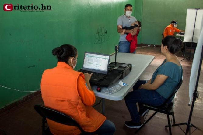 proyecto identificación Honduras