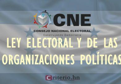 Nueva Ley Electoral no se ha aprobado porque diputados cercanos a Juan Hernández la están boicoteando