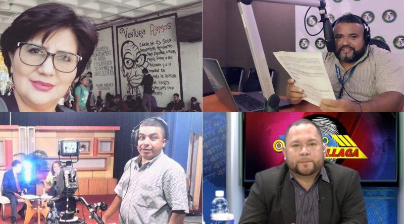 periodistas hondureños