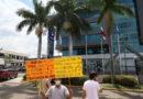 Defensores del agua denuncian ilegal traspaso del manejo del agua a Banco Ficohsa