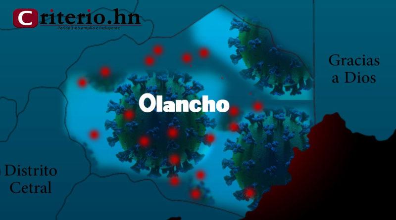 Olancho está cayendo lentamente