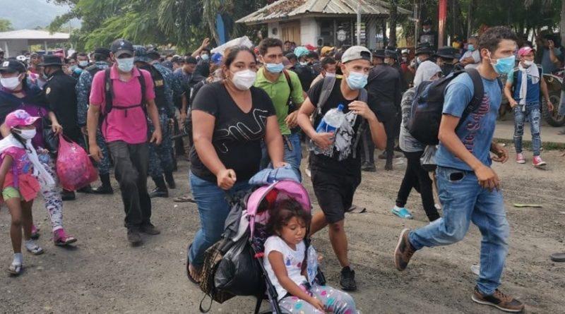 hondureños serán detenidos y retornados