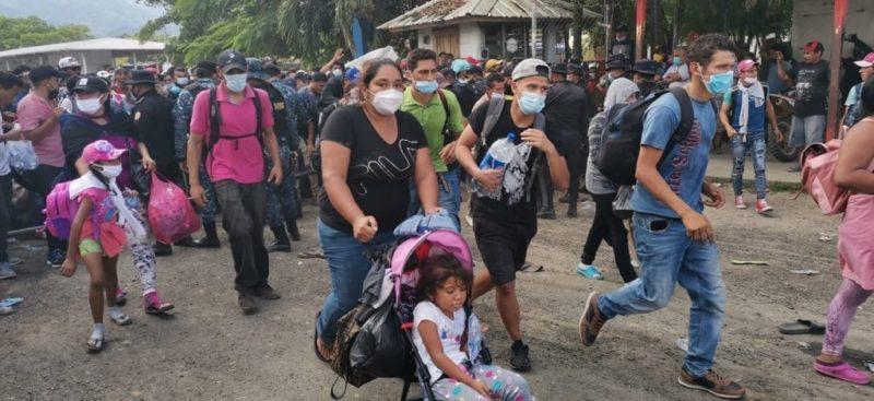 El llanto de los niños migrantes