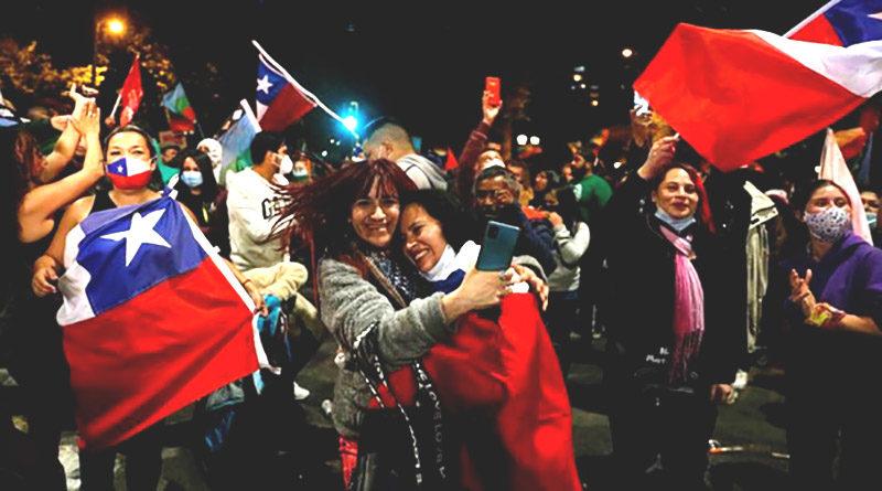 Chilenos están a favor de una nueva Constitución