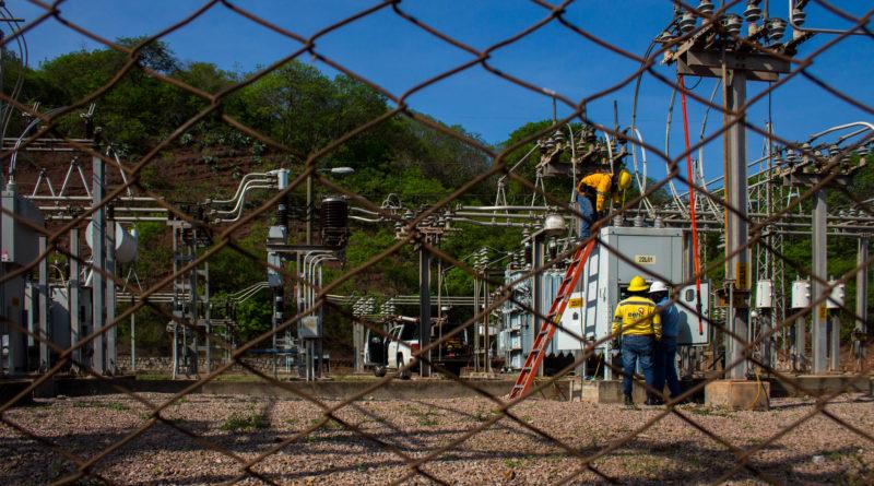 Protestas en La Ceiba