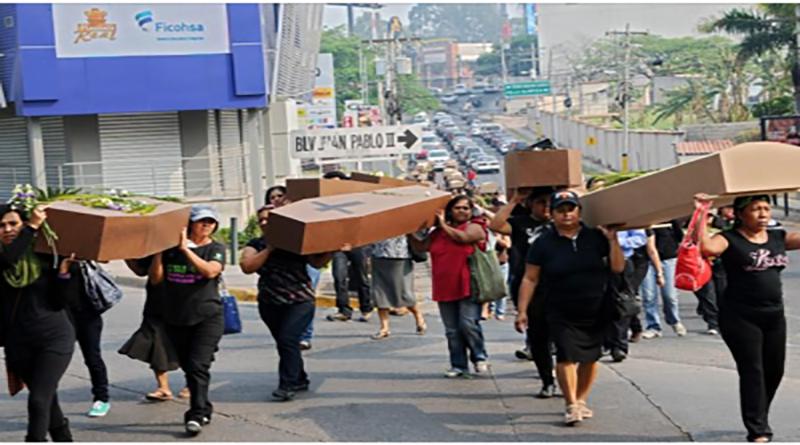 Un femicidio diario en Honduras