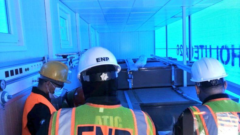 MP concluye inspección de hospitales móviles