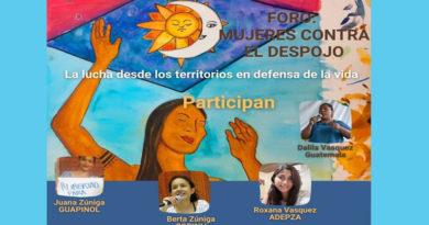 Mujeres organizadas y radios comunitarias fuertes bastiones en la defensa de los territorios